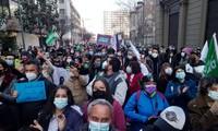 Celebran primera sesión de la Convención Constitucional de Chile para redactar la nueva Carta Magna