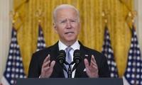 La guerra de Estados Unidos en Afganistán ha terminado, afirmó Biden