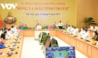 """Hanói responde al programa """"Señal de red y computadoras para niños"""""""