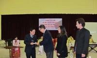 สถานทูตไทยและสมาคมนักธุรกิจไทยประจำเวียดนามเยือนโรงเรียนคนตาบอด