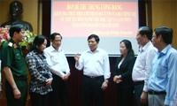 คณะกรรมการกลางพรรคลงพื้นที่ตรวจการปฏิบัติมติที่03ของกรมการเมืองณKiênGiang