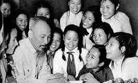 ผลักดันการศึกษาและปฏิบัติตามแบบอย่างคุณธรรมของประธานโฮจิมินห์