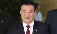 ประธานรัฐสภาสาธารณรัฐเกาหลีเดินทางมาเยือนเวียดนาม
