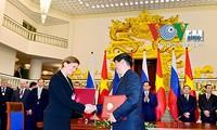 เวียดนามและรัสเซียลงนามโครงการร่วมมือด้านสาธารณสุขสำคัญๆ