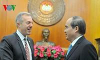 เวียดนามให้ความสำคัญต่อการขยายความร่วมมือที่กว้างลึกกับสหรัฐ