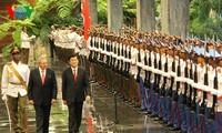 สัมพันธไมตรีที่ยาวนานพิเศษเวียดนาม-คิวบาจะพัฒนาในทุกด้านต่อไป