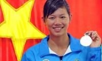 นักว่ายน้ำ เหงียนถิแอ๊งเวียนได้รับการคัดเลือกเป็นนักกีฬาดีเด่นอันดับหนึ่งของเวียดนามเป็นครั้งที่ 3