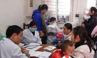 ผลักดันการป้องกันและรับมือกับอากาศหนาวจัดให้แก่ผู้ป่วยตามโรงพยาบาลต่างๆ