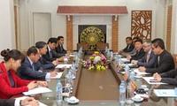 รัฐมนตรีช่วยว่าการกระทรวงรักษาความมั่นคงทั่วไปเวียดนามให้การต้อนรับรองประธานกลุ่มบริษัทMicrosoft
