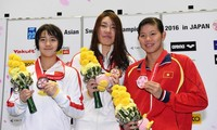 นักว่ายน้ำ เหงียน ถิ แอ๊ง เวียน คว้าเหรียญทองแดงอีก 2 เหรียญในการแข่งขันว่ายน้ำชิงแชมป์เอเชีย
