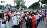 ขานรับวันวิ่งมาราธอนเพื่อสุขภาพของประชาชน