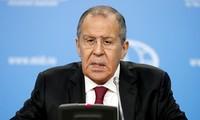 การแถลงข่าวต่อสื่อมวลชนของกระทรวงการต่างประเทศรัสเซียเกี่ยวกับปัญหาระหว่างประเทศที่ร้อนแรง