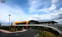สนามบิน เลียนเคือง ดอกไม้ช่องามกลางเขตที่ราบสูงเตยเงวียน