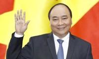 นายกรัฐมนตรี เหงียนซวนฟุก ให้สัมภาษณ์สื่อสาธารณรัฐเกาหลี