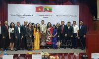 ผลักดันความร่วมมือด้านการศึกษาเวียดนาม-เมียนมาร์