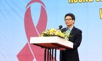 ผลักดันการป้องกันและต่อต้านโรคเอดส์ ยาเสพติดและการค้าประเวณีในช่วงปลายปี