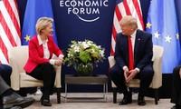 WEF 2020- สหรัฐและอียูหารือเกี่ยวกับข้อตกลงการค้าทวิภาคี