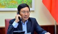 เวียดนามและญี่ปุ่นผลักดันความร่วมมือในการป้องกันและรับมือการแพร่ระบาดของโรคโควิด-16
