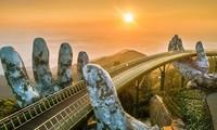 Cau Vang หรือสะพานทองที่ Ba Na Hills นครดานัง ติดรายชื่อสะพานที่สวยที่สุดในโลก