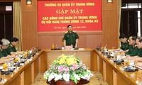 กองทัพมีส่วนร่วมต่อผลสำเร็จของการประชุมครั้งที่ 12 คณะกรรมการกลางพรรคสมัยที่ 12