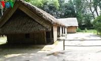 บ้านที่เรียบง่ายที่ลุงโฮอาศัยในวัยเยาว์ตั้งแต่ปี 1901-1906