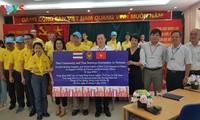 สถานทูตไทย ณ กรุงฮานอย ทีมประเทศไทยและภาคเอกชนมอบสิ่งของบรรเทาทุกข์ให้แก่ผู้ที่มีฐานะยากจนที่ได้รับผลกระทบจากโรคโควิด-19 ในแขวง ฟุกซ้า เขตบาดิ่งห์ กรุงฮานอย