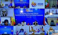 การประชุมเจ้าหน้าที่อาวุโสเกี่ยกับประชาคมวัฒนธรรม-สังคมอาเซียนครั้งที่ 28 เน้นถึงเนื้อหาที่ให้ความสนใจเป็นอันดับต้นๆ 5 ประเด็นในปีประธานอาเซียน 2020