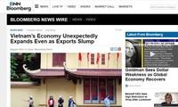 บลูมเบิร์กแสดงความเห็นว่า เศรษฐกิจของเวียดนามเติบโตกว่าที่คาดการณ์ไว้ถึงแม้ได้รับผลกระทบจากการแพร่ระบาดของ COVID-19