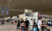 พาพลเมืองเวียดนามจากประเทศต่างๆกลับประเทศ.