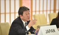 รัฐมนตรีว่าการกระทรวงการต่างประเทศญี่ปุ่นเดินทางไปเยือนลาตินอเมริกาและแอฟริกา