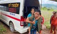 ขบวนรถแห่งความเมตตาเพื่อรับส่งผู้ป่วยยากจนในจังหวัดเลิมด่ง