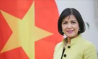 เวียดนามแลกเปลี่ยนความคิดเห็นในการสัมมนาของ WTO เกี่ยวกับเศรษฐกิจหมุนเวียนและการช่วยเหลือด้านการค้า