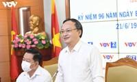 คำขอบคุณของสถานีวิทยุเวียดนามในโอกาสรำลึกครบรอบ 96 ปีวันหนังสือพิมพ์ปฏิวัติเวียดนาม