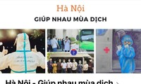 """กลุ่มเฟซบุ๊ก """"ฮานอย – ช่วยเหลือจุนเจือกันฟันฝ่าการแพร่ระบาด"""" ขยายผลการช่วยเหลือชุมชน"""