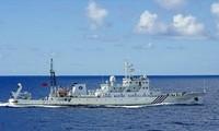 Chinese warships cross waters near Japan's Okinawa islands