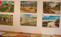 HCMC street children's paintings showcased in France