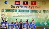 Art exchange for Cambodia–Laos–Vietnam development triangle