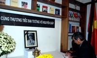 Vietnam's embassies mourn General Vo Nguyen Giap