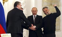 Russian President delivers special message on merging Crimea with Russia