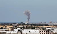Israel launches air strike on Gaza
