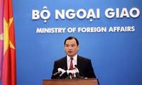 Vietnam protests any violations of Vietnam's sovereignty and jurisdiction