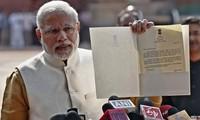 Narenda Modi elected BJP leader