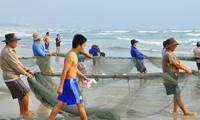 Da Nang: gifts presented to ship owners and fishermen