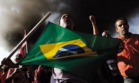Brazil homeless workers protest in World Cup host city