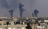 Israel launches massive offensive at the Gaza strip