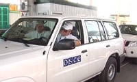 OSCE confirms Ukraine's shell on Russian border checkpoints