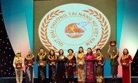 Vietnam Women's Prize honors women's contributions to society