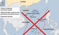 """US protests China's """"9-dash line"""" in East Sea"""