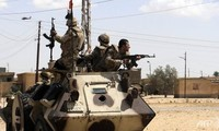 Egyptian securities forces kill extremists in Sinai