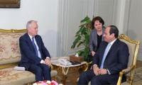 Egypt, France address MENA crisis